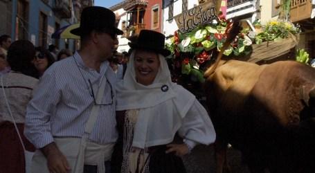 Toda Gran Canaria se congrega en Teror alrededor de la Virgen del Pino