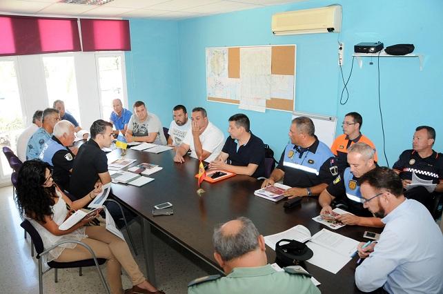 Acebuches Trail 2015, Junta de Seguridad