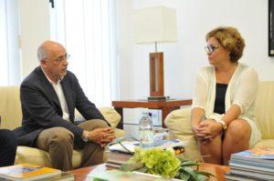 Antonio Morales y Rosa Kraus