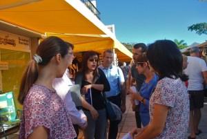 La consejera Minerva Alonso visita las ZCA de Mogán