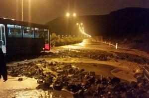 Lluvias y desprendimientos en Gran Canaria