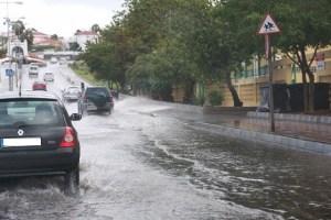 Maspalomas, lluvias torrenciales