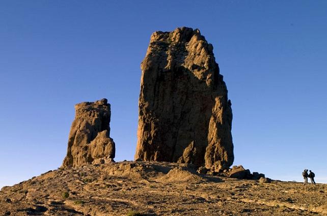 Roque Nublo, en Gran Canaria