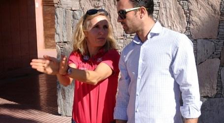 Atletas y organizadores del Challenge Mogán-Gran Canaria visitaron Amadores