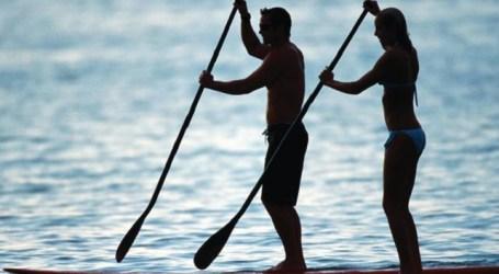 La costa de Mogán acoge la última prueba del europeo de Stand Up Paddle