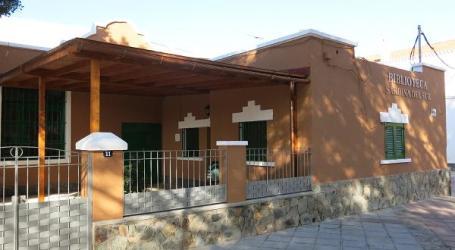 Santa Lucía mejora el edificio de la biblioteca de Sardina con 45 mil euros del Urban