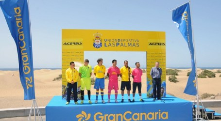 Maspalomas Costa Canaria apoya una película histórica sobre la U.D. Las Palmas