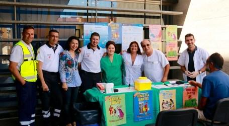 NC colabora con los actos organizados por el Centro de Salud de Arguineguín