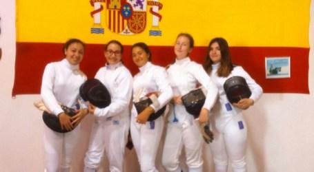 La esgrima tirajanera obtiene tres medallas en el Campeonato de Canarias M15