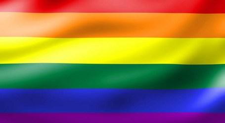 El Cabildo de Gran Canaria despliega la bandera LGTB y guarda minuto de silencio