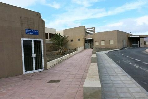 Centro de Salud de Vecindario, cerrado por obras