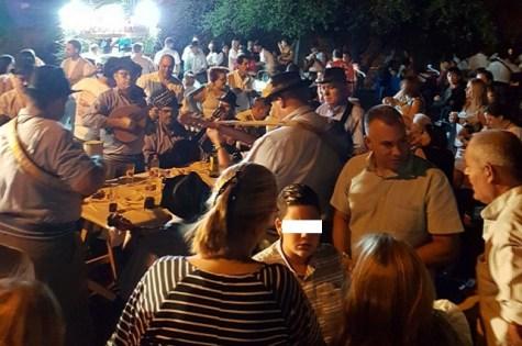 Fiestas de Ayacata, Noche de taifas