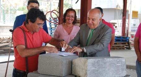 El Cabildo reinicia las obras de la parada de guaguas preferente de Playa de Mogán