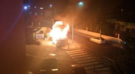 La Policía Nacional detiene en Maspalomas al pirómano de los contenedores