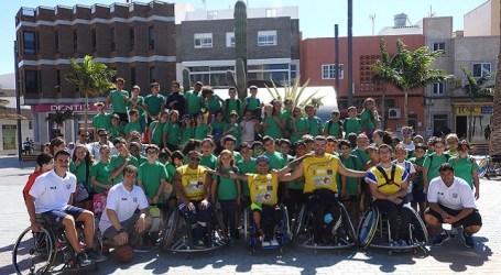 Los escolares protagonizan la Semana de la Movilidad en Santa Lucía