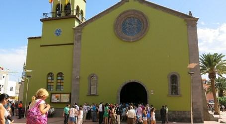 San Rafael entrega a Cáritas los más de 4.000 kilos de comida donados por Carrefour