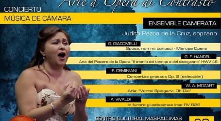 El Bel Canto llega a Maspalomas de la mano de la soprano Judith Pezoa