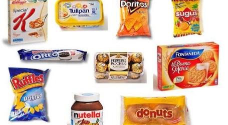 Alimentos que contienen aceite de palma