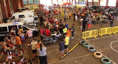 Más de 800 niños participan en el III Encuentro Infantil de Emergencias en Vecindario