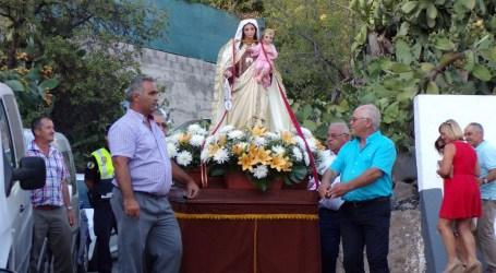 Taidía celebra sus fiestas populares en honor a la Virgen del Carmen