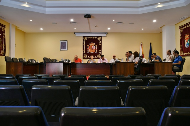 Pleno ordinario sin oposición, octubre 2017