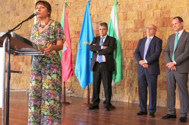 Mancomunidad del Sureste, alcaldesa y alcaldes con el presidente del Cabildo
