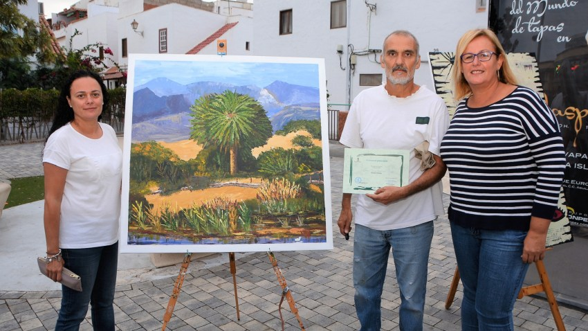 Certamen de Pintura Rápida de Maspalomas, Ernesto Rodríguez