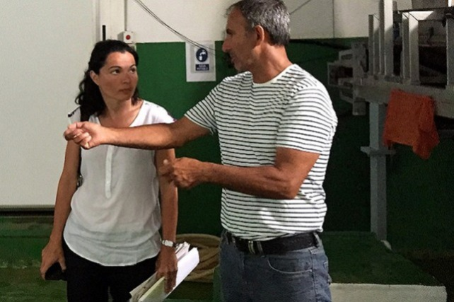 Isabel Santiago y Ricardo Ortega