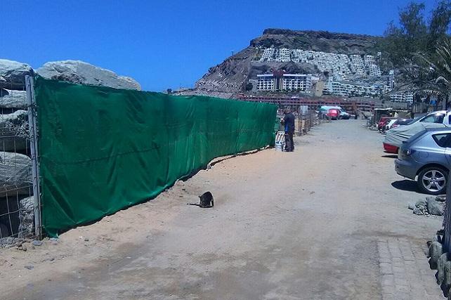 Playa de Tauro cerrada (2)