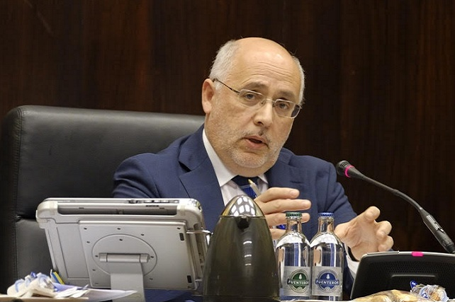El presidente del Cabildo de Gran Canaria, Antonio Morales, presidió hoy el Pleno del Cabildo de Gran Canaria, correspondiente al mes de enero. Cabildo de Gran Canaria.