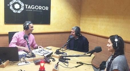 El presidente Clavijo felicita a Radio Tagoror por su programa infantil 'La hora chica'