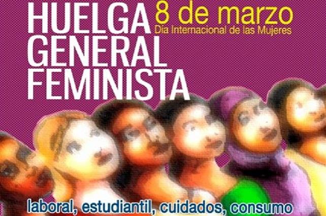 Huelga General Feminista, 8 de marzo