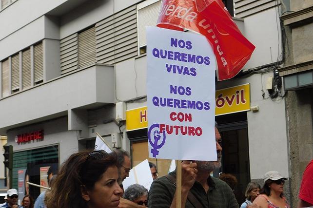 IUC, Huelga Feminista