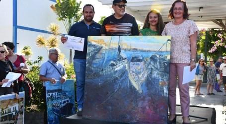 Francisco Navarro gana el 8º Certamen de Pintura Rápida de Playa de Mogán