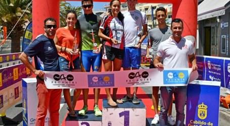 Arguineguín celebró la fiesta del triatlón con la primera edición del Gloria Junior Challenge Mogán Gran Canaria