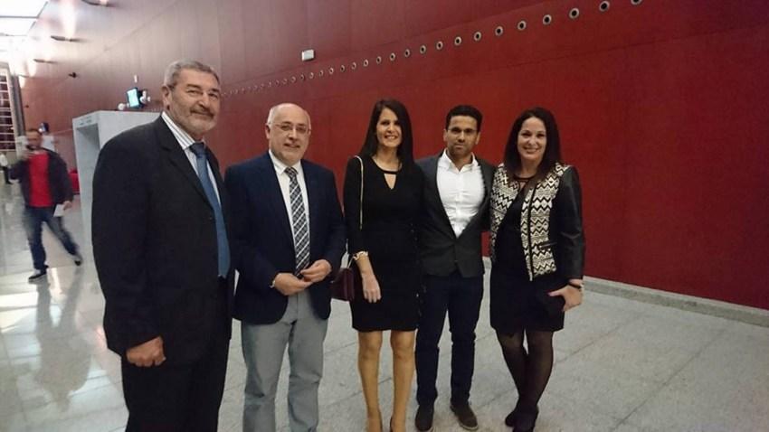 Nueva Canarias, Antonio Morales con concejales de SBT