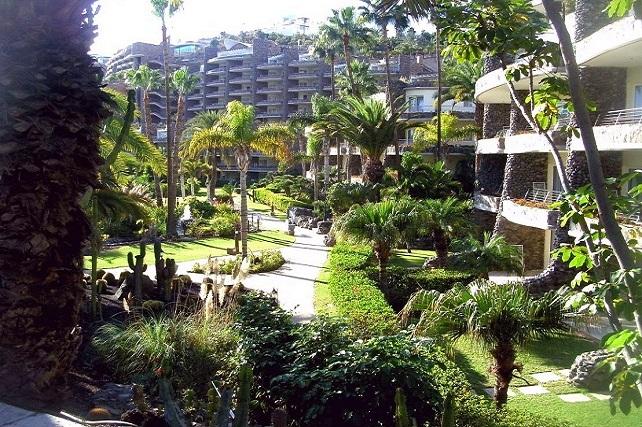 Anfi del Mar, jardines