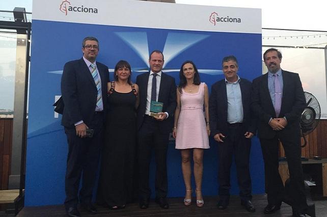 Premio Eolo en Madrid