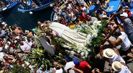 La Virgen del Carmen de Arguineguín acude al encuentro de su homóloga en Playa de Mogán
