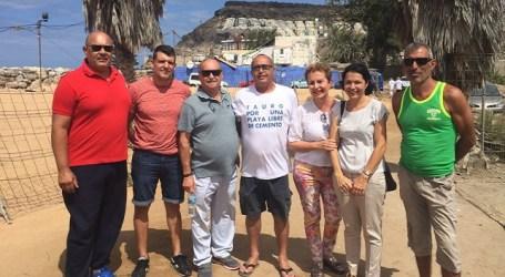 Nueva Canarias apoya la los vecinos de Tauro en la creación de su asociación