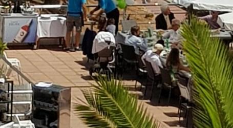 NC denuncia que el Ayuntamiento de Mogán permite la actividad de una cafetería sobre dominio público