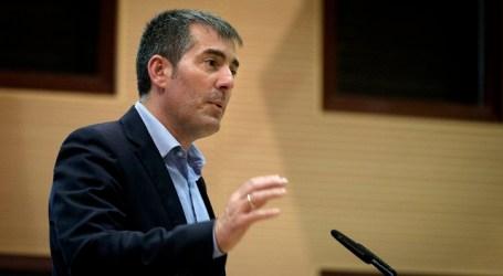 Izquierda Unida Canaria exige la dimisión inmediata de Fernando Clavijo