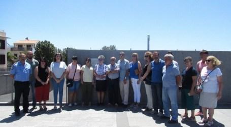 Santa Lucía homenajea a las víctimas de Spanair con una placa por el décimo aniversario del accidente