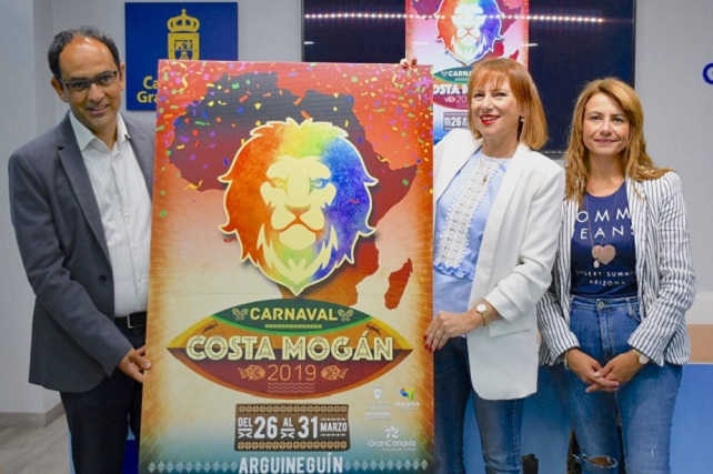 Carnaval Costa Mogán 2019, presentación