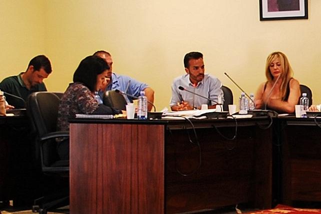 Pleno ordinario de Mogán, oposición PP y NC