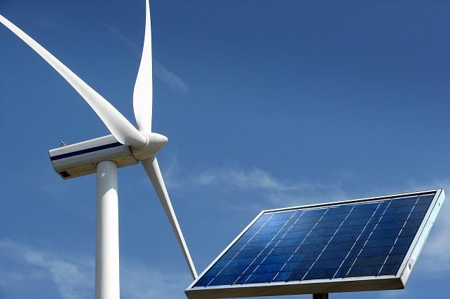 Energías renovables, eólica y solar