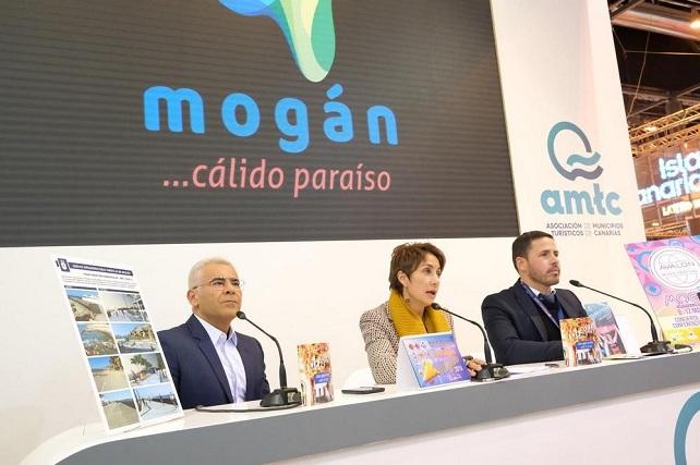 Fitur 2019, Jorge Javier Vázquez y Onalia Bueno