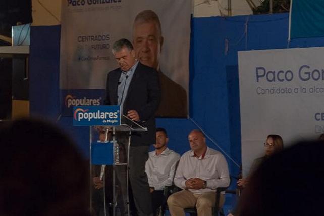 Paco González, candidato del PP a la alcaldía de Mogán