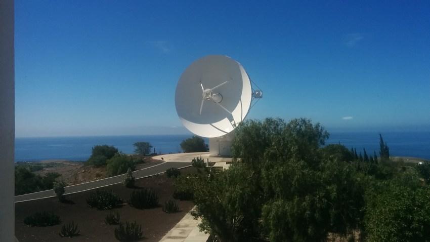 Centro Espacial de Canarias en Maspalomas