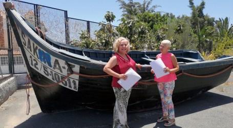 Un cayuco será el elemento central para integrar al alumnado del IES Faro dentro del proyecto Boat Planter